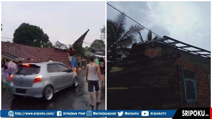 Puluhan Rumah dan Fasum di Baturaja Rusak Akibat Cuaca Ekstrem, Kepala BPBD OKU: Tak Ada Korban Jiwa