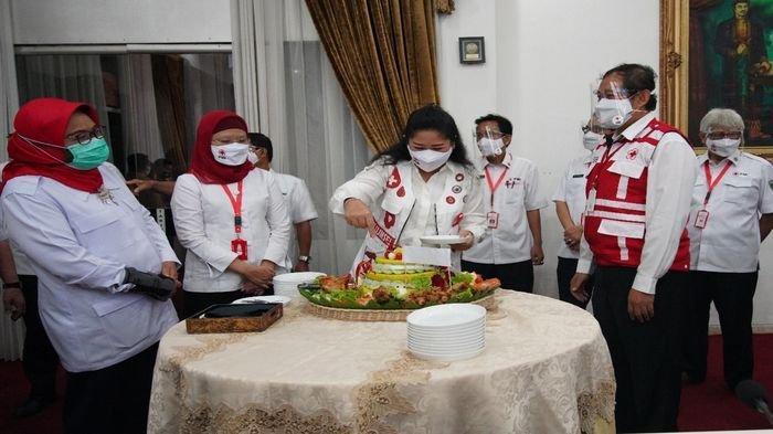 Peringati HUT PMI Via Daring, Feby Deru Ajak Jaga Solidaritas Kemanusiaan di Tengah Pandemi Covid-19