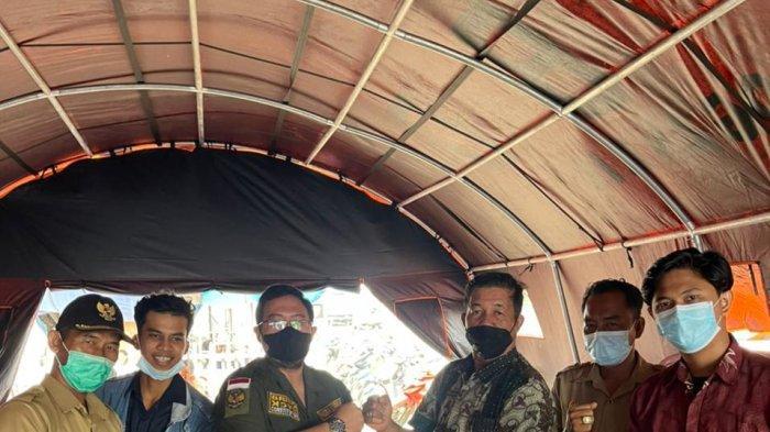 CPI dan GM Kosgoro Bantu Korban Kebakaran di Desa Ibul Besar III