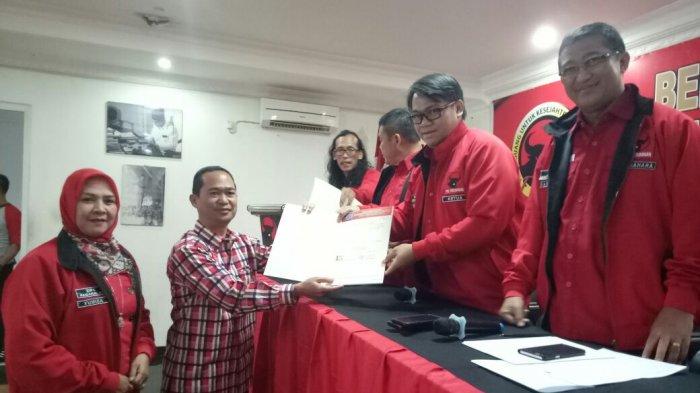 PDIP Resmi Usung Pasangan Ida-Arman di Pilwako Pagaralam