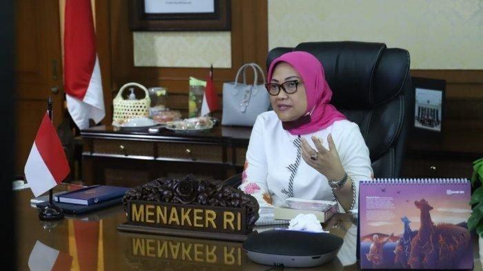 Menteri Ketenagakerjaan Dinyatakan Positif Terpapar Covid-19, Ini Pesan Ida Fauziyah