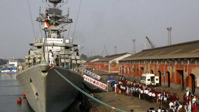 LAUT China Selatan Disesaki Kapal Perang Asing, Termasuk 4 Fregat India Gabung Armada Amerika