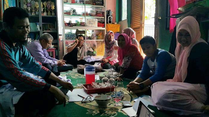 Ketua IGI Kota Palembang Lakukan Persiapan Rapat Panitia Seminar