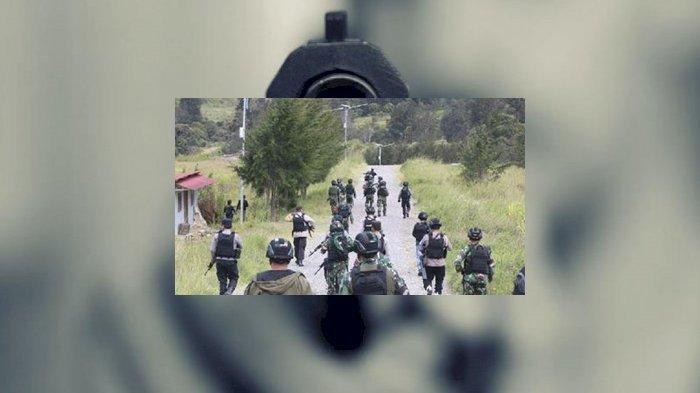 YAHUKIMO SIAGA I, Pasukan Gabungan Kejar 20 OTK Perampas Senjata SS2 Milik 2 Prajurit TNI