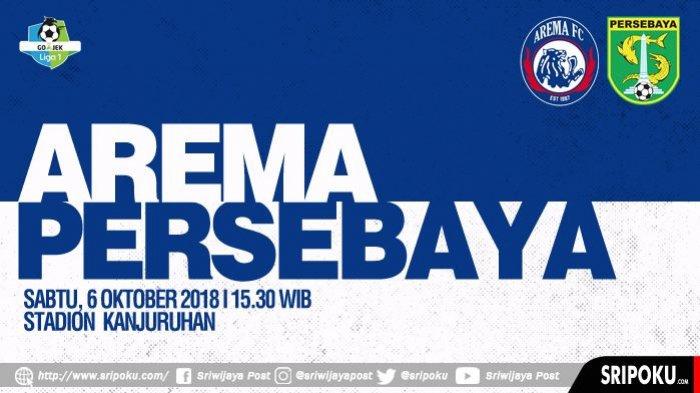 SEDANG BERLANGSUNG, Tonton Live Streaming Indosiar Siaran Langsung Arema vs Persebaya Disini !