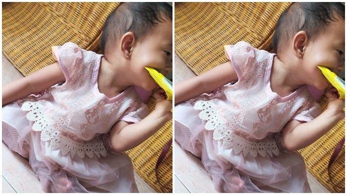 Ilustrasi Bayi 11 bulan MPASI