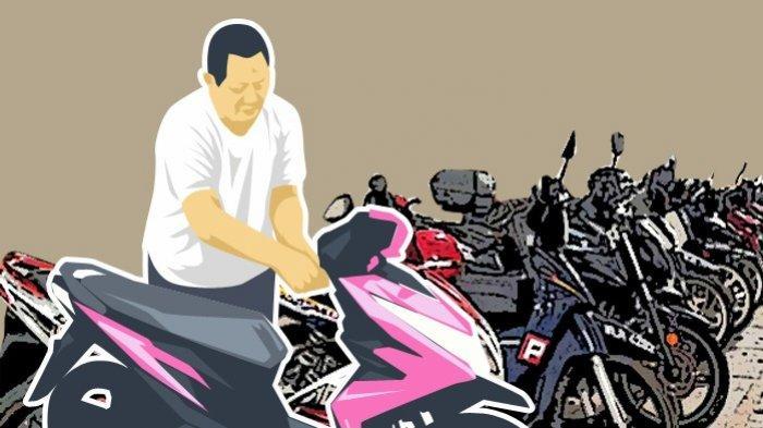 Dua Tahun Buron Pencuri Sepeda Motor Akhirnya Tertangkap Polisi di Rumah