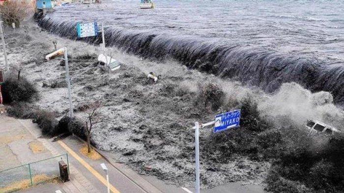 CUMA 16 MENIT Bagi Warga untuk Selamatkan Diri dari Tsunami: Skenario Gempa Kuat 8,7  di Laut Jawa