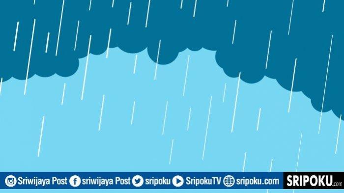 Prakiraan Cuaca Sumsel Minggu 17 Januari 2021, Potensi Hujan Pada Siang & Malam Hari di Wilayah Ini