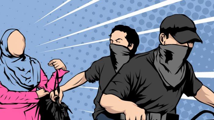TENDANG Ibu Hamil di Depan Suami, Jambret di Banyuasin Ini Kalang Kabut Ditangkap Polisi