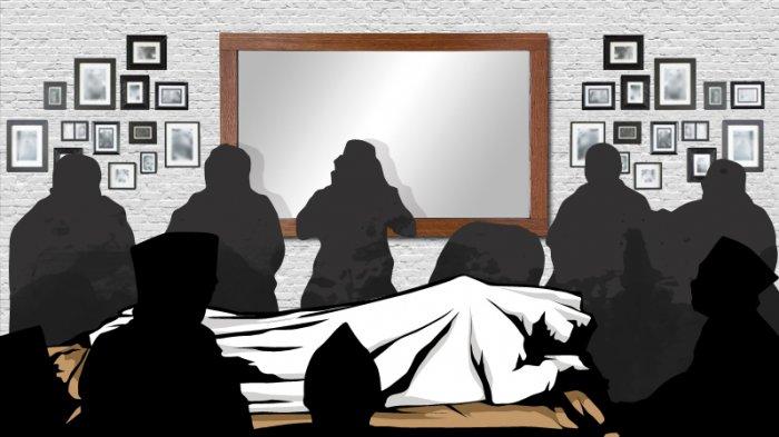 Viral Jenazah Protokol Covid-19 Masih Pakai Daster, Pihak Keluarga Beranggapan Belum Dimandikan