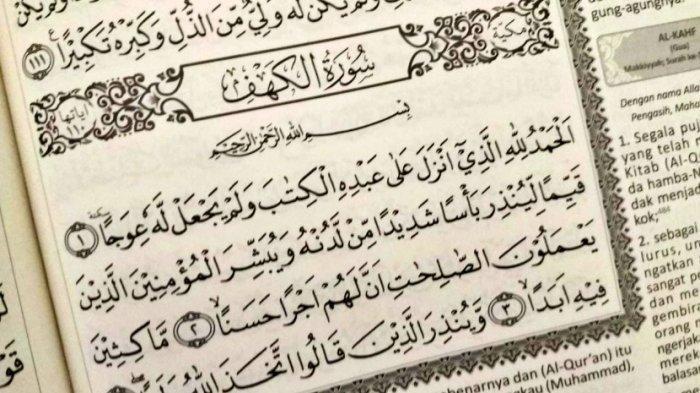 Manfaat Membaca Surat Al-Kahfi
