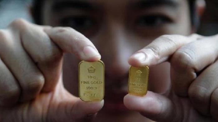 Harga Emas Antam Naik Rp 2.000 Per Gram Menjadi Rp 947.000 Per Gram, Hari Ini Senin (19/4/2021)
