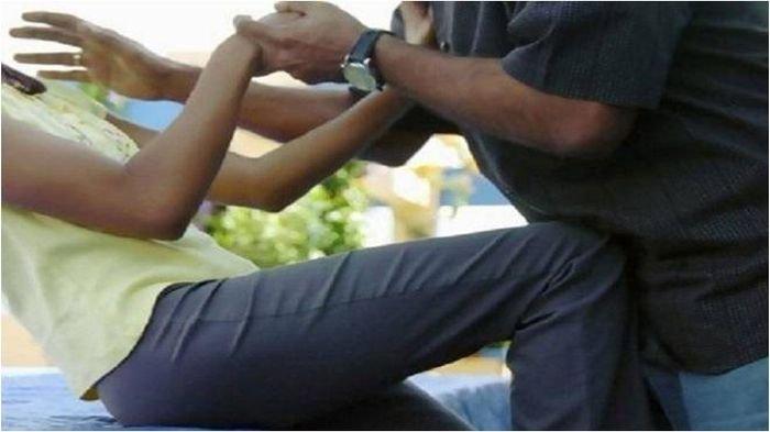 Posting di FB Ingin Cabuli Isteri Korban KRI Nanggala, Pria Ini Menangis, Minta Ampun Saat Dicambuk