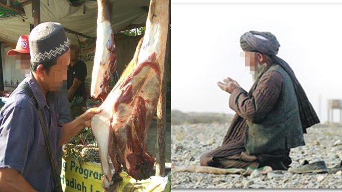 Didatangi Pria Misterius Sehabis Berdagang, Penjual Daging ini Tidak Tahu kalau Sosok itu Ternyata