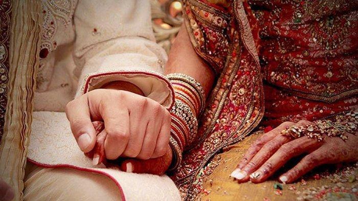 Menikah di Tengah Wabah Virus Corona, Pasangan Pengantin Ini Harus Rela Tak Dihadiri Tamu Undangan
