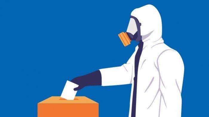 Berikut Tahapan Penyaluran Hak Suara di TPS Tengah Pandemi, KPU PALISediakan Alat Bantu Coblos