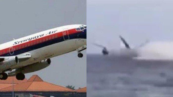 Hancur Membentur Air, Ucapan Terakhir Kapten Afwan Jadi Tanda 'Keanehan' Sebelum Sriwijaya Air Jatuh
