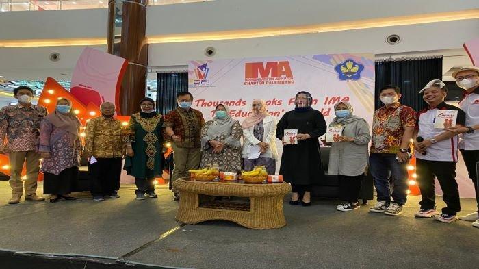 IMA Peduli Pendidikan Donasikan Buku Bagi Pengajar, Gandeng Ikatan Penerbit Indonesia (IKAPI) Sumsel