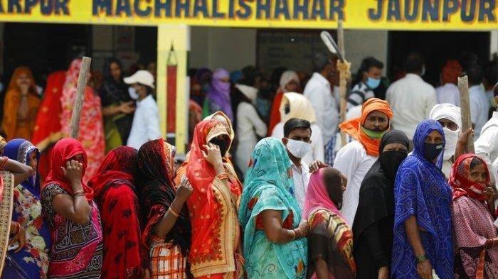 PECAH Rekor, Dalam 24 Jam Jumlah Kasus Covid-19 di India Tembus ke Angka 20 Juta, Situasi Memburuk