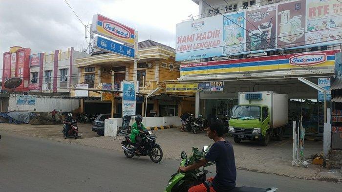 Indomaret Jalan Inspektur Marzuki Kelurahan Siring Agung Kecamatan Ilir Barat 1 Palembang