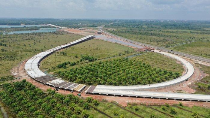 Progress Pembangunan Tol Indraprabu di Sumsel Capai 44,2 Persen, Target Rampung Juni 2022