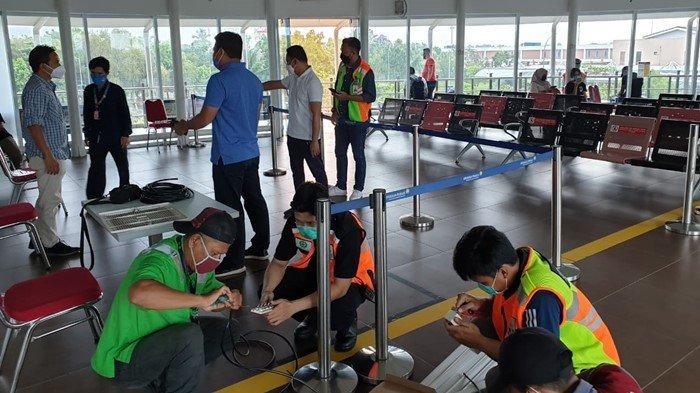 Sebelum Diterapkan, Bandara SMB II Palembang Akan Gratiskan Tes GeNose Untuk Penumpang Selama 3 Hari