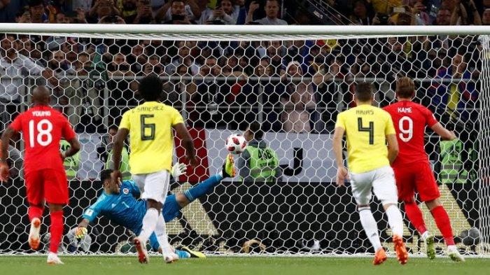 Hasil Kolombia vs Inggris ; Skor Imbang 1-1 Inggris Menang Lewat Adu Penalti (3-4)