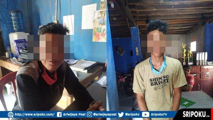 Bapak dan Anak yang Bacok Seorang Pria di Tulung Selapan, Dibawa dan Ditahan di Mapolres OKI