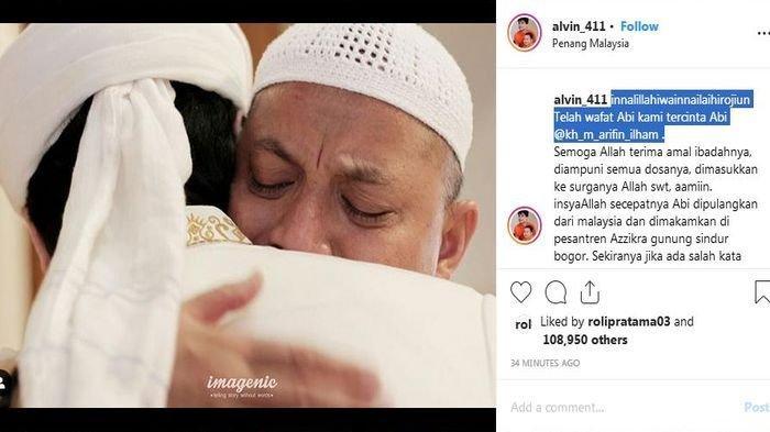 Ustaz Arifin Ilham akan Dimakamkan di Pondok Pesantren Azzikra Gunung Sindur Bogor