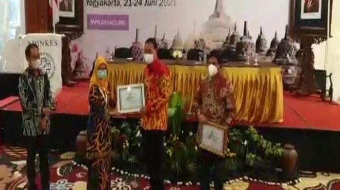 Inovasi Dokter Masuk Desa, Pemkab Banyuasin Dapat Pengakuan Nasional Penghargaan dari Adinkes