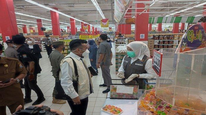 Wawako Palembang Lakukan Sidak di Dua Supermarket, Nihil Temuan Zat Berbahaya