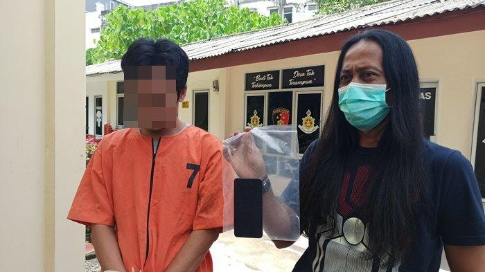 Ditangkap Katim Heri Gondorong, Pembobol Kosan di Palembang Ini Intip Cewek Mandi, Terekam CCTV