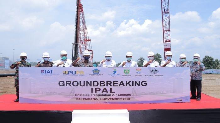 Proyek IPAL Sei Selayur Kalidoni Palembang, Jadi Kota Pertama Memiliki Air Bersih Skala Perkotaan