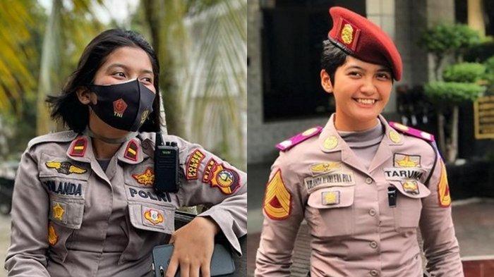 Mengenal IPDA Yulanda Alvaleri, Kapolsek Polwan Termuda di Indonesia, Polisi Cantik dari Bukittinggi