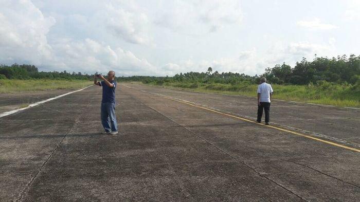 Bandara PALI Mulai Dibenahi dengan Mendatangkan Dua Konsultan Berpengalaman Internasional
