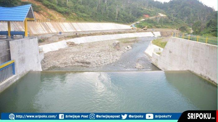 Tinjau Proyek Irigasi Lematang  Kota Pagaralam, HD Kian Optimis Sumsel Lumbung Pangan Nasional