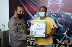 Kapolda Hadiri Serbuan Vaksinasi & Baksos Nusantara, Stakeholder Tak Terbuai Penurunan Angka Corona
