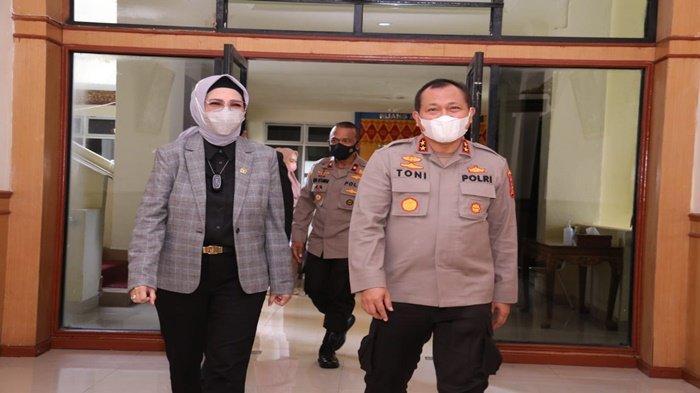 Silahturahmi Kapolda Sumsel ke DPRD Provinsi Sumsel