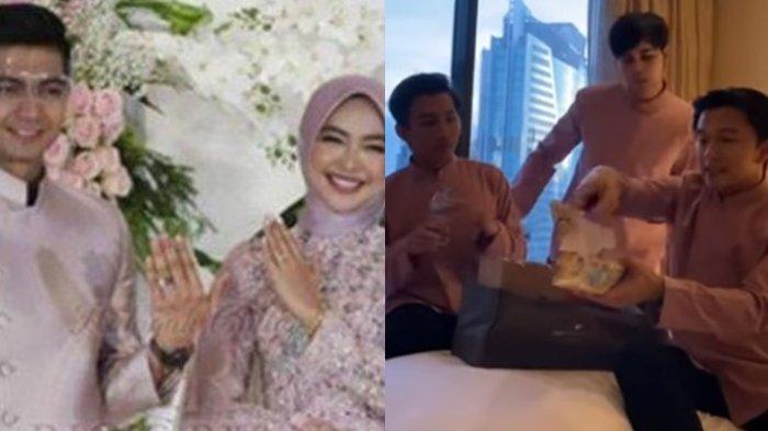 Hampers Pakai Kantong Perhiasan, Isi Souvenir Lamaran Ria Ricis & Teuku Ryan Bikin Kaget, Bukan Emas