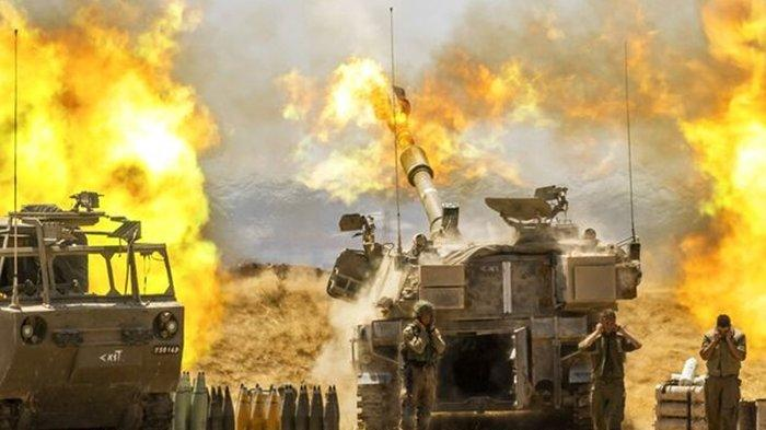 ISRAEL Jadikan Gaza Bak Kota Hantu saat Lebaran Idul Fitri, Lakukan Bombardir Komandan Hamas Tewas