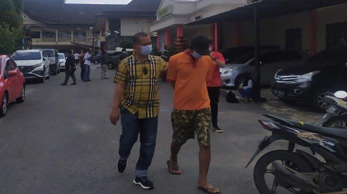 Disergap Polisi di Sukarami, Istri di Palembang Kaget, Ternyata Suami Bawa 100 Butir Ekstasi