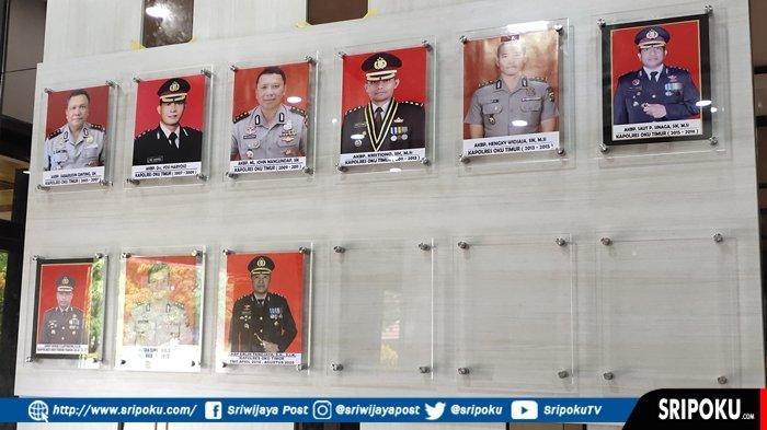 Berikut Daftar Nama Kapolres OKU Timur dari Awal Berdiri, Ada yang Baru Jadi Jenderal Bintang Satu