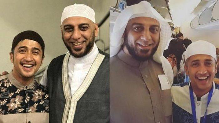 Syekh Ali Jaber dan Presenter Irfan Hakim.