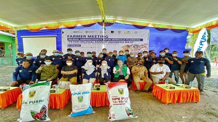 Farmer Meeting: PUSRI Cetak Millennials Agrosolution