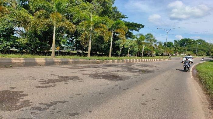 Waspada! Saat Musim Hujan, Beberapa Titik Jalan di Prabumulih Berlubang