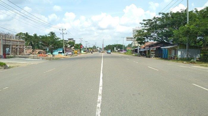 H+1 Idul Fitri, Jalan Lintas Sumatera di Muratara Ada yang Berbeda