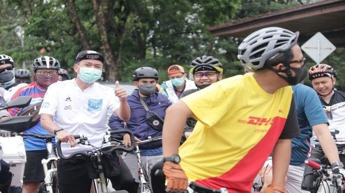 Besok Jalur Sepeda di Palembang Disurvey Kemenhub, Sekda Gowes Tipis dengan Komunitas Minta Masukan