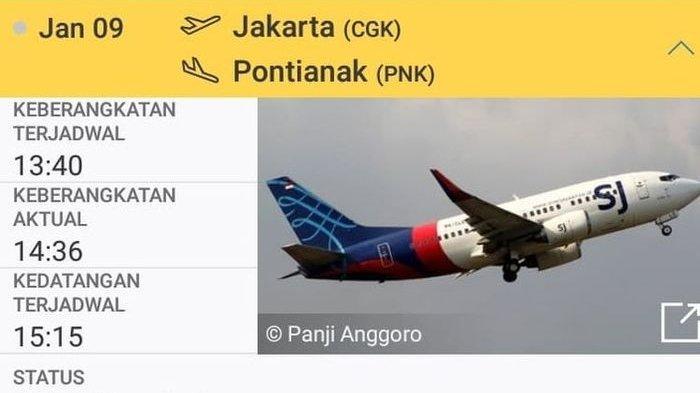 Kronologi Sriwijaya Air Jatuh: Selang 5 Detik Pesawat Menunduk, FDR Langsung Berhenti Merekam