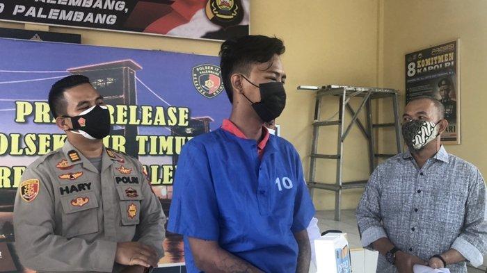 Jambret di Palembang, Tabrak Warung dan Pingsan Pejambret di Slamet Riyadi Ini Nyaris Dihajar Warga
